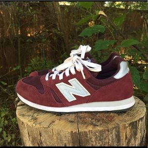 New Balance 373 Burgundy Sneakers Casual Shoes